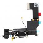 Šleife iPhone 5S Sistēmas konektors (Melns) : jauna