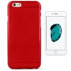 iPhone 7 silikona aizsargapvalks / sarkans