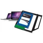 Cietā diska adapteris (HDD/SSD) DVD-ROM aizvietošanai (OWC)
